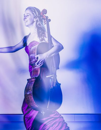 cello player photo by Donald van Hasselt